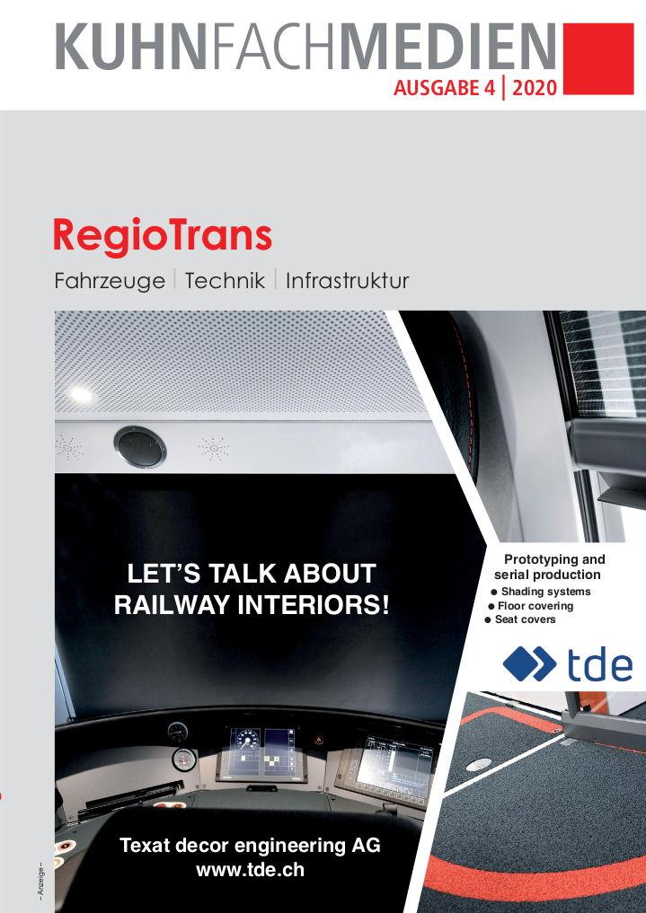 Titelseite RegioTrans 2020